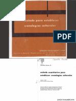 FORD, J. 1962. Método cuantitativo para establecer cronologías culturales. capitulo 3 y 4.pdf