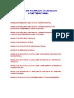 Practica Procesal Recurso de Agravio Constitucional