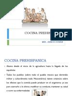 Historia de la cocina prehispánica