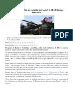 Brasil y Colombia Les Costaría Muy Caro