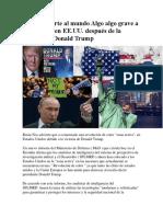 Rusia Advierte Al Mundo Algo Algo Grave a Comenzado en EE