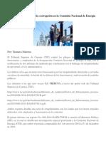 TSC Destapó Millonaria Corrupción en La Comisión Nacional de Energía