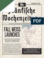 Die Fränkische Wochenzeitung Vol.1 Issue 1