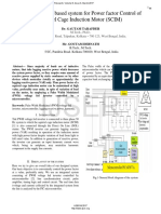 Microcontroller Based System for Power Factor Control of Squirrel Cage Induction Motor SCIM