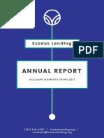 Exodus Lending Annual Report 2017