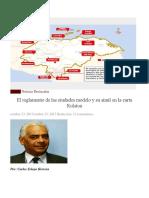El Reglamento de Las Ciudades Modelo y Su Símil en La Carta Rolston