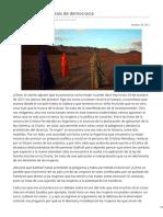 80grados.net-Las Mujeres y Las Ansias de Democracia