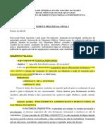 Processo Penal I - Roteiro 04 - Inquérito e ação penal.pdf