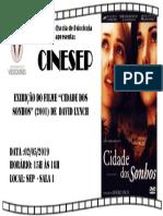 Cartaz Cine SEP - Lynch