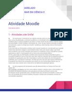 Atividade 1 Moodle - ICT