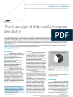 The Concept of Minimally Invasive Dentistry (Ericson)
