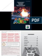 Manual Nintendo64 SuperMario64 En