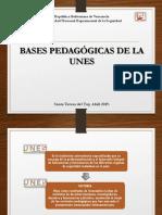 Bases Pedagogicas Unes