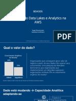 Criando Data Lakes com Amazon
