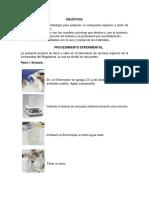 informe sintesis aspirina