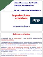 2. Imperfecciones Cristalinas 2019