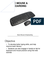 Basic Mouse and Keyboarding Pp