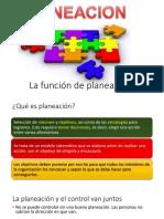 Planificación administrativa