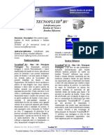 Tecnofluid BV-boletim Tecnico