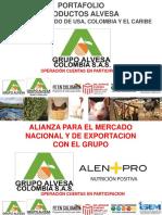 MARZO 1 2019 PORTAFOLIO PRODUCTOS ALVESA PARA EL GRUPO ALEN + PRO & ALIANZA PACIFICO & SEMILLAS DEL .pdf