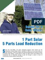1 Part Solar 5 Part Solar Reduction