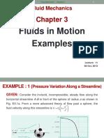 MT335 Chap3 Fluid Flow - Examples