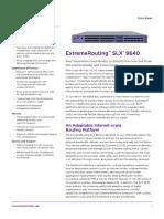 Slx 9640 Data Sheet