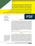 Jornadas de Educ Intercultural