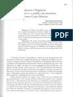 FURTADO, Júnia Ferreira - Saberes e negocios, os diamantes e o artífice da memória, Caetano Costa Matoso.pdf