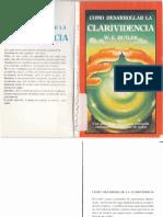 (W.E. Butler) - Como desarrollar la Clarividencia.pdf