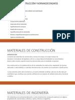 MATERIALES DE CONSTRUCCIÓN PPT1