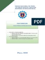 Malla Curricular - Educación Inicial (Nuevo)