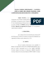 BULLRICH PIDE QUE LOS ORGANIZADORES DEL PARO PAGUEN LOS 23 MILLONES DEL OPERATIVO