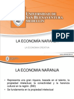La Economía Naranja Una Oportunidad Infinita