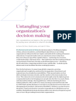 Untangling Your Organizations Decision Making