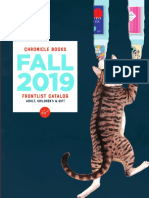 Fall 2019 Chronicle Books Frontlist