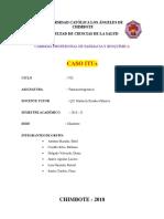 Caso Clinico Itu 2018 II A