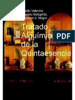 eBook en PDF Tratado Alquimico de La Quintaesencia