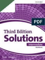Solutions Intermediate 3ed Workbook