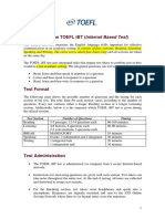 About the TOEFL Ibt