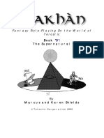 Shakhan Book D the Supernatural