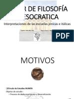 TALLER DE FILOSOFÍA PRESOCRATICA- PRIMERA SESION.pdf