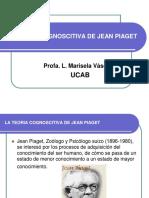 Teoría Cognoscitiva de Jean Piaget Ucab