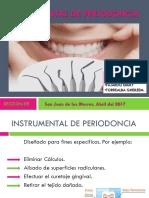 Instrumental de Periodoncia