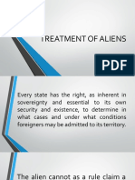 TREATMENT-OF-ALIENS-1.pptx