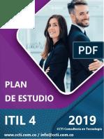 Plan de Estudios Itil 4