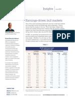 Earnings-driven Bull Markets