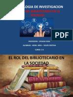 El rol del bibliotecario
