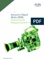 MDA IDM Flash Study 2010 - Public Report
