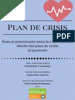Cartilla Plan de Crisis